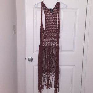 Other - Long drapey cardigan
